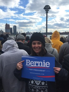 fee bernie rally